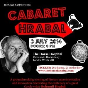 Cabaret Hrabal: Czech Centre London