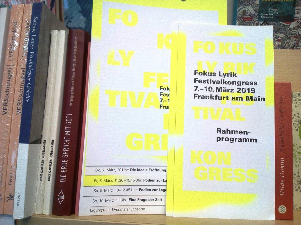 A Note On Frankfurts Fokus Lyrik Festival Performing