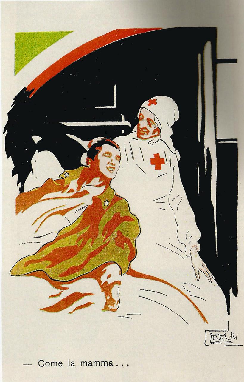 """""""Like Mama."""" Italy. c. 1915"""
