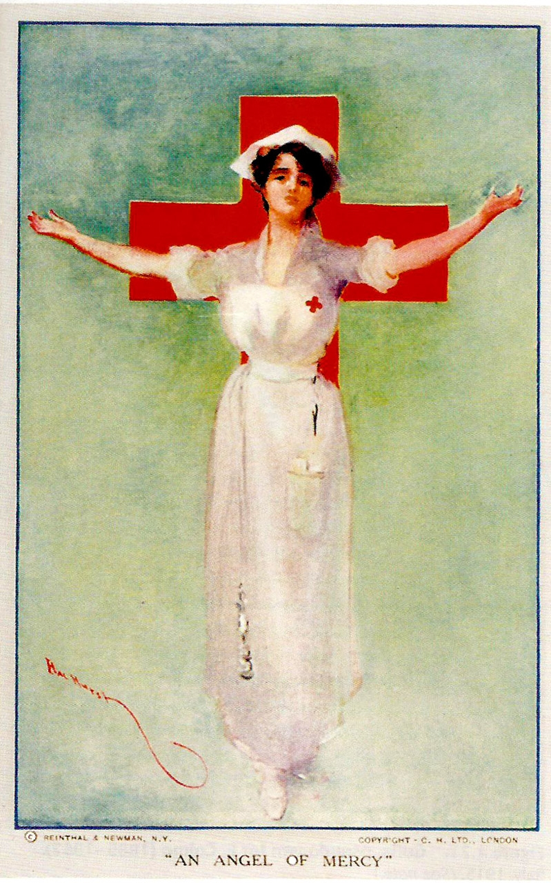 "Hal Hurst ""An Angel of Mercy"" England 1917"