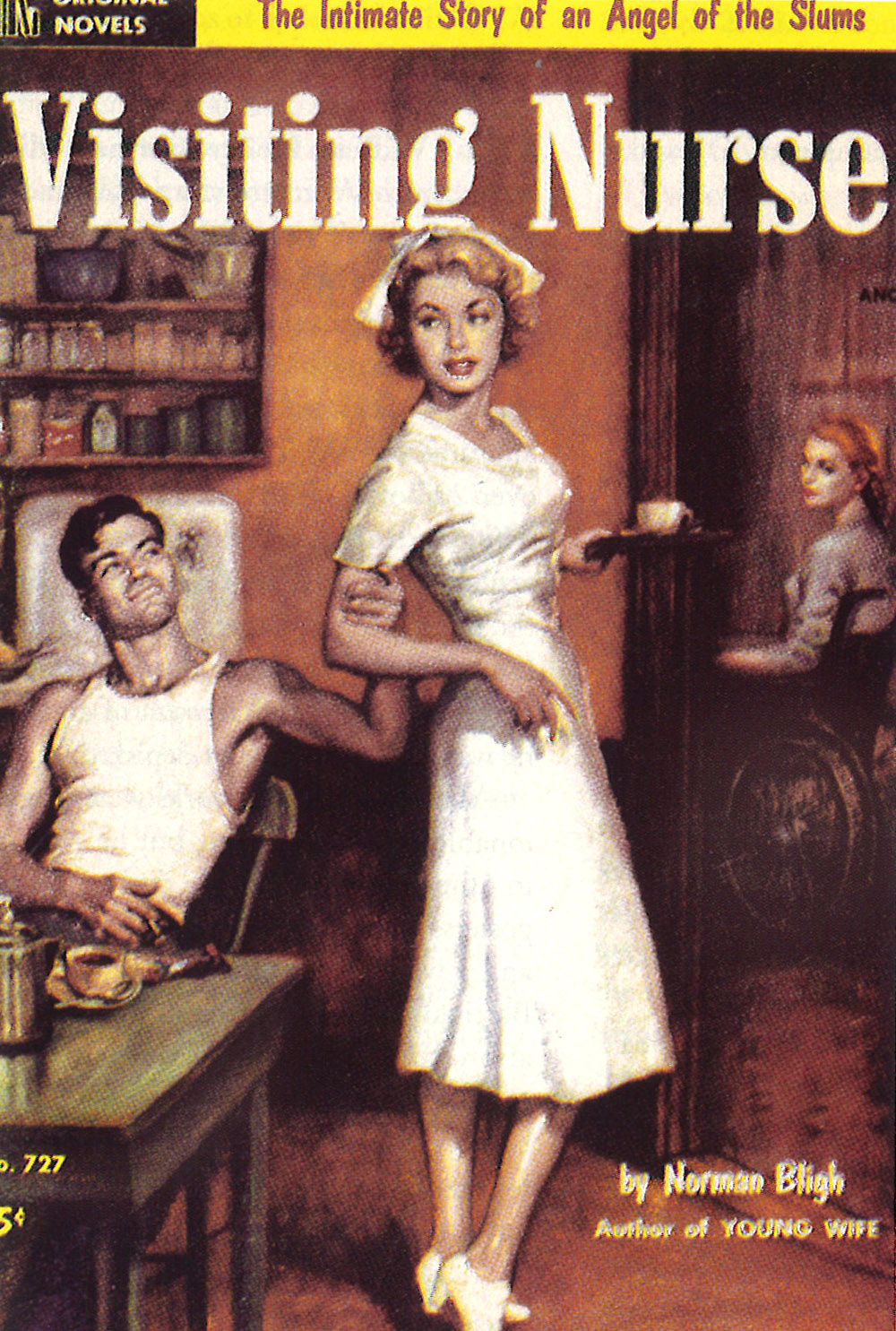 """Visiting Nurse."" United States. 1985.  copyright Philip-Dimitri Galas"