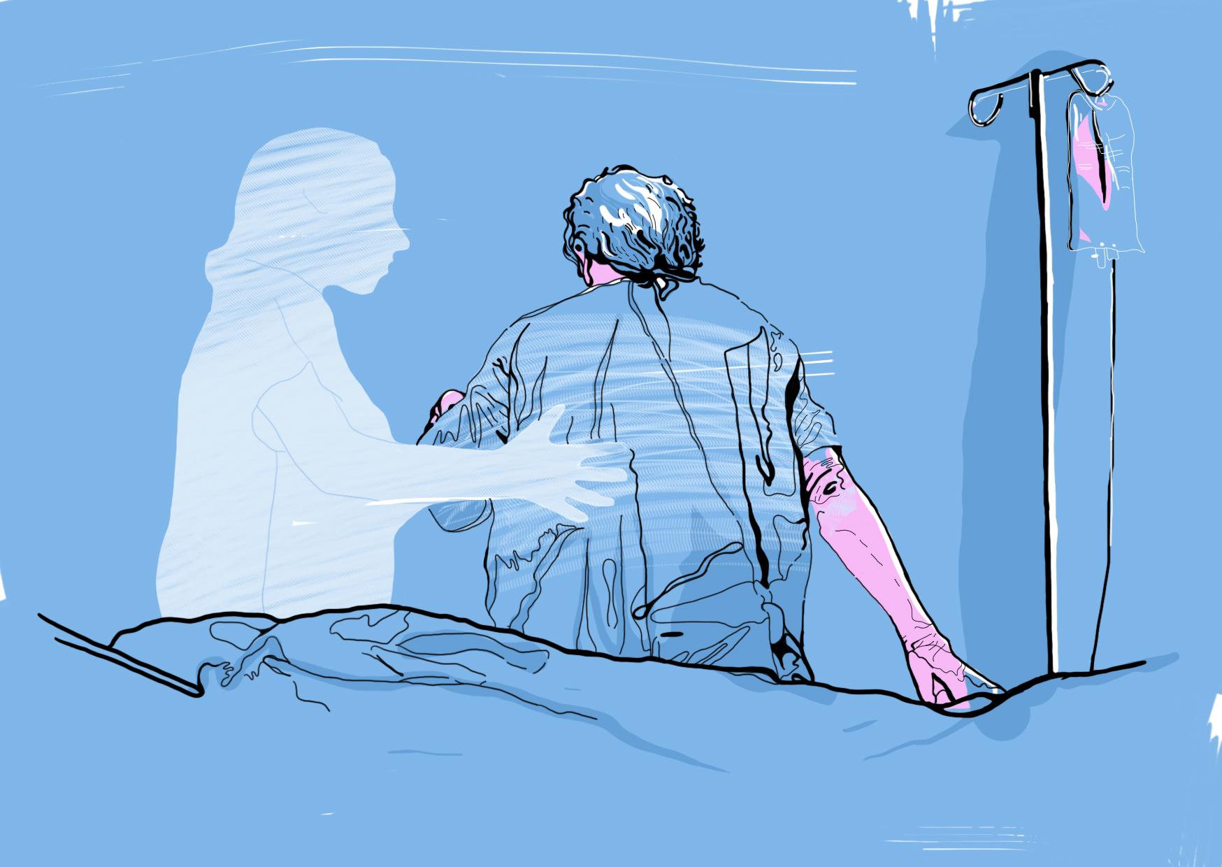 Illustration by  Jennie Edwards.