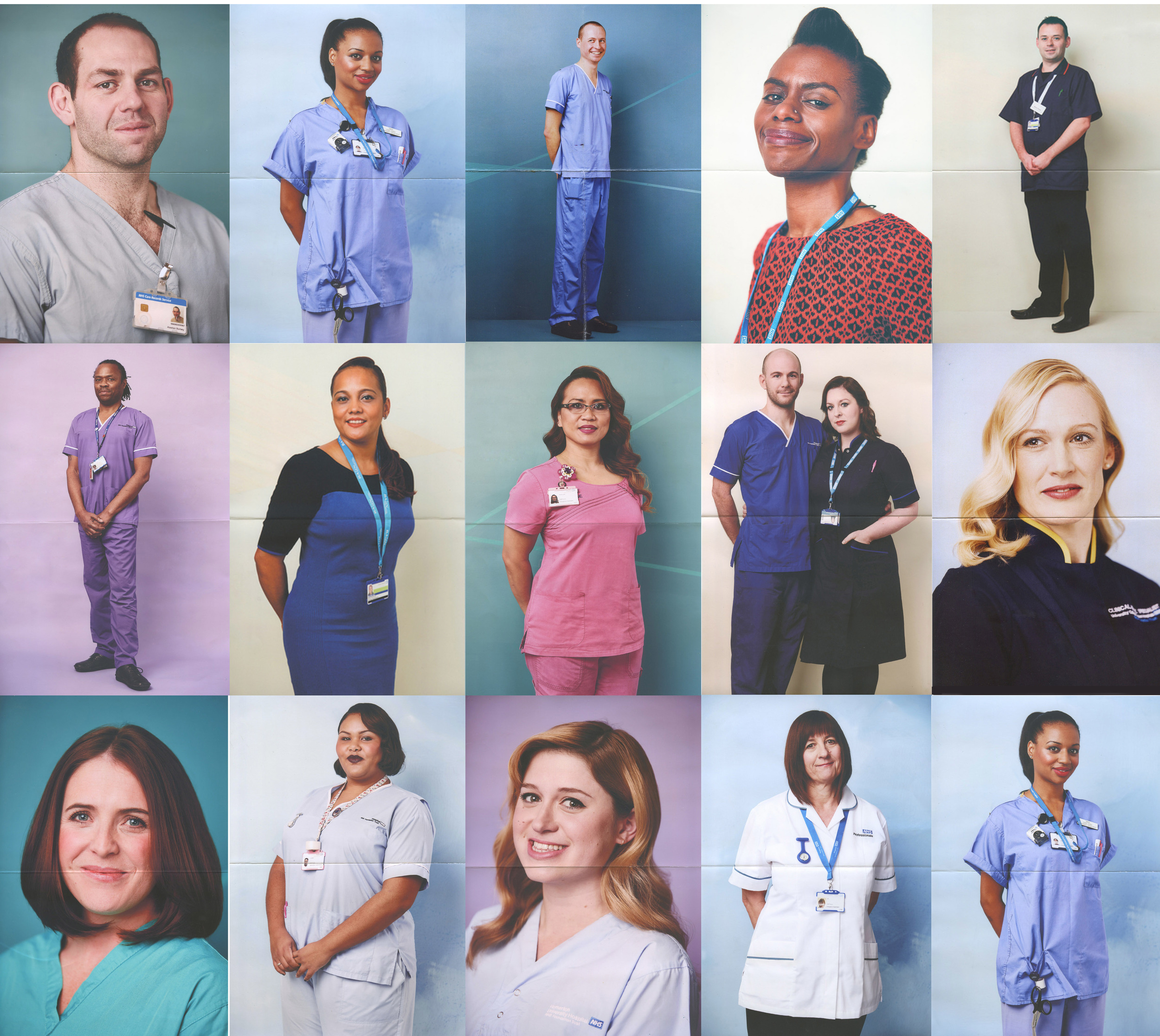 One Nice Thing - portraits of nurses.