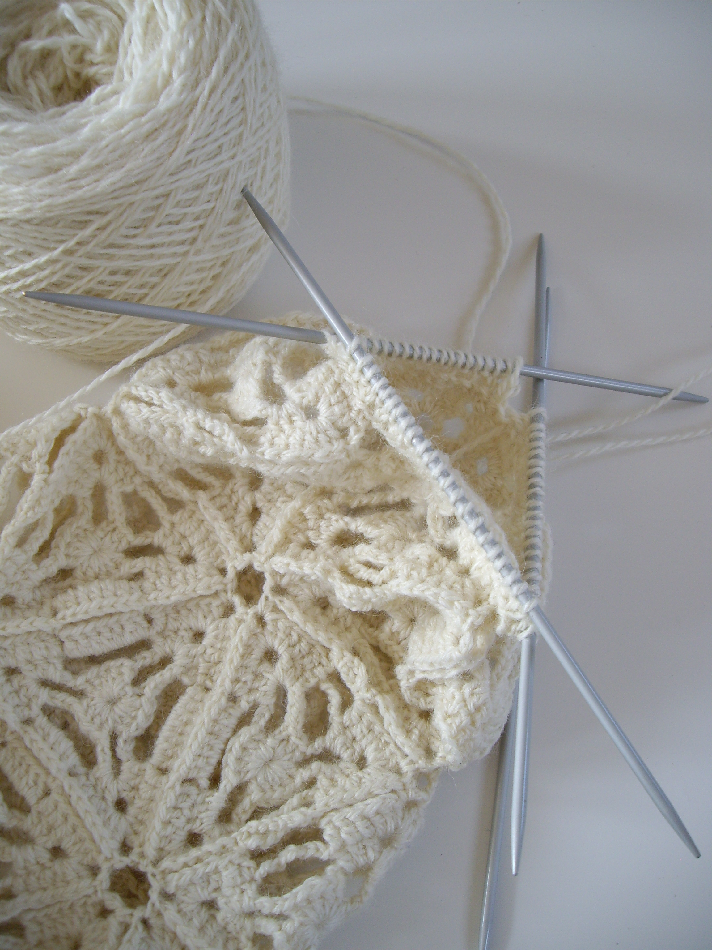 Hand knit with Welsh wool
