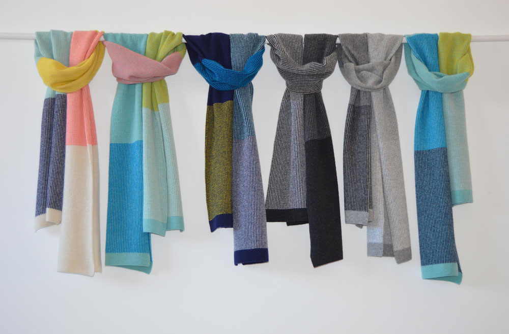 Islands Scarf Collection.