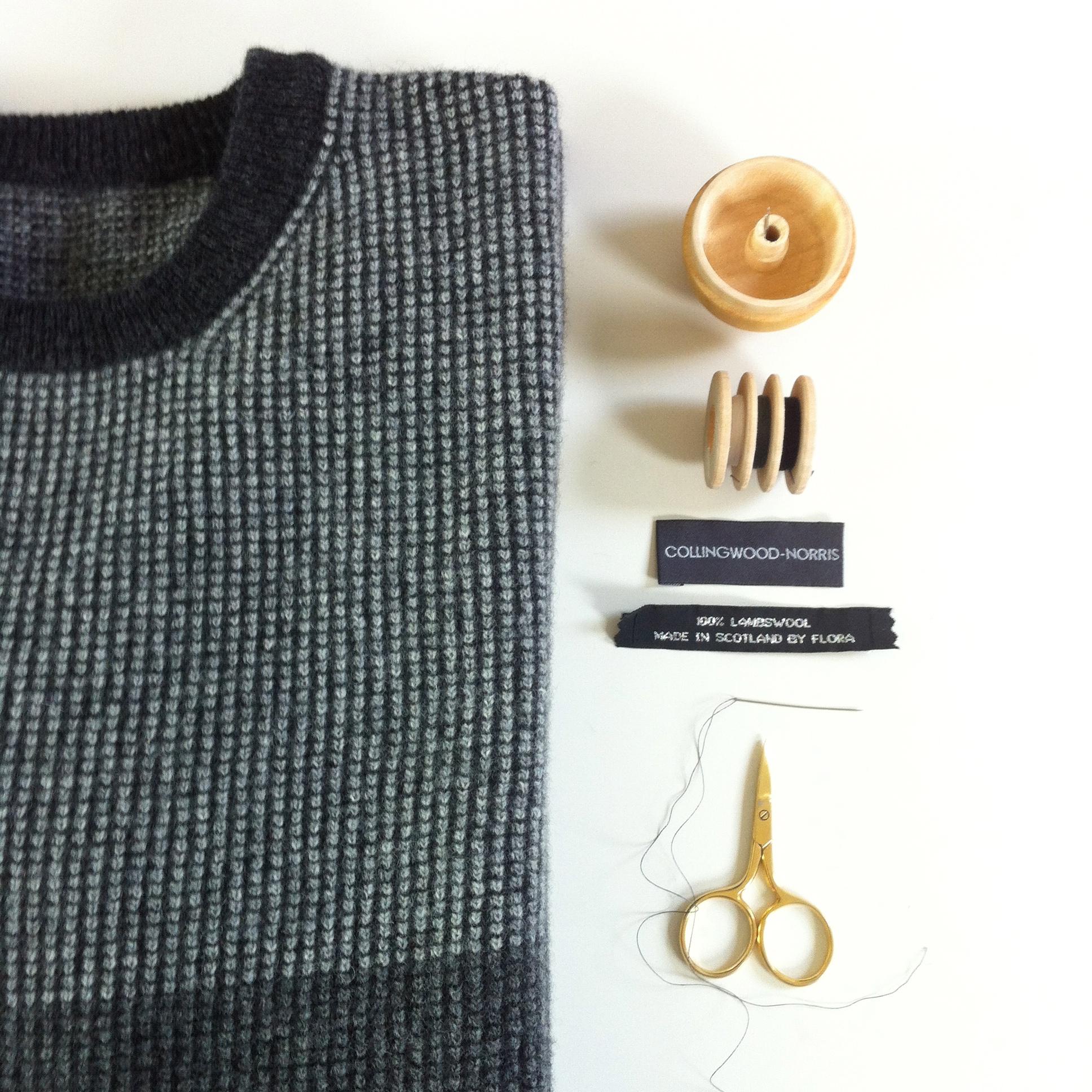 Mens Luxury Wool Jumper Made in Scotland