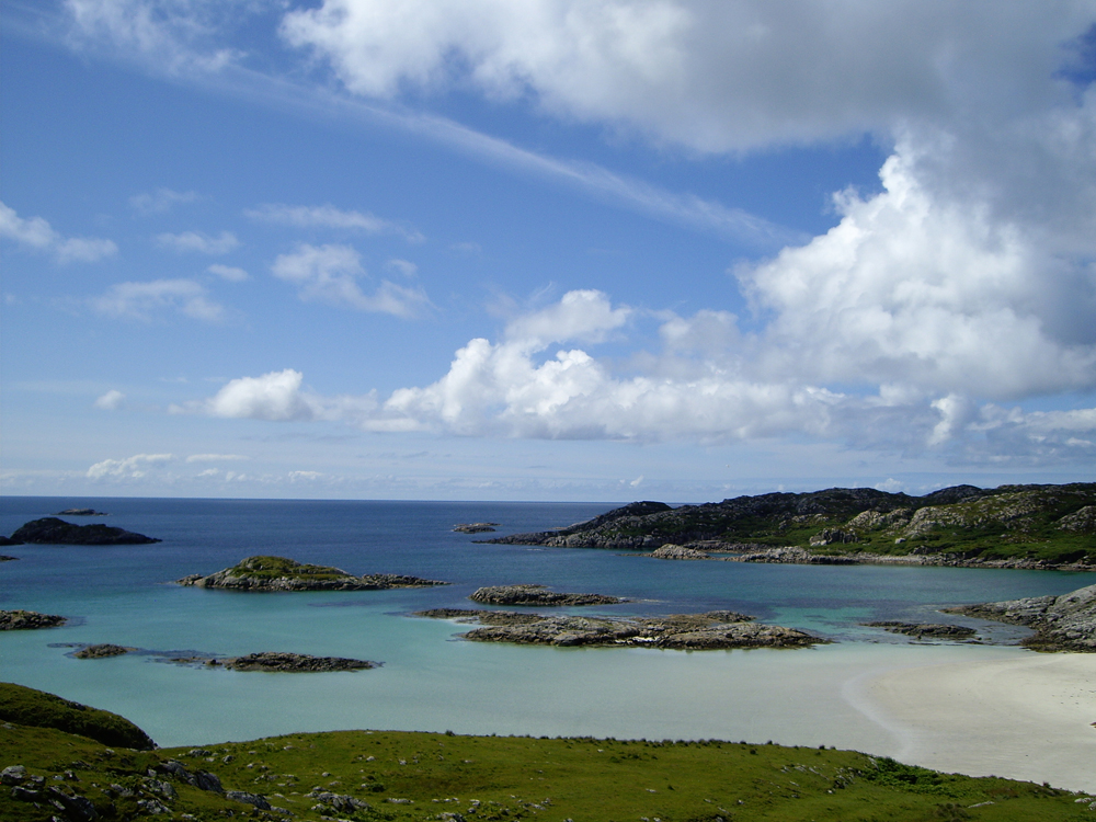 Beaches on the isle of Mull