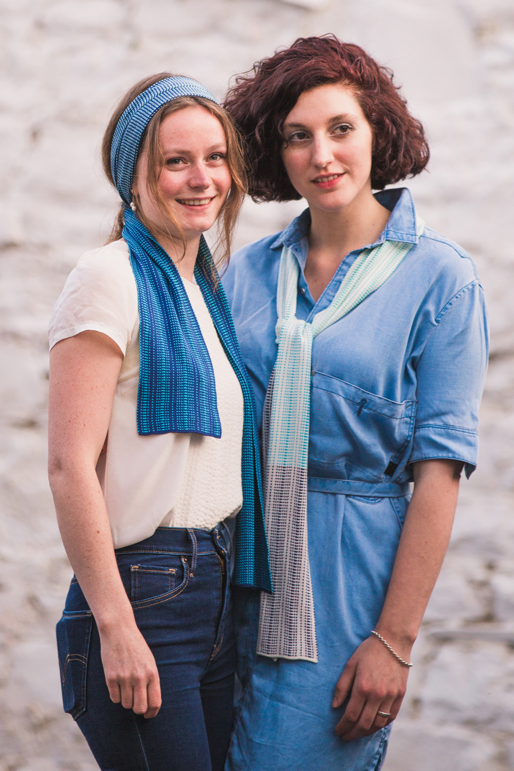 There are so many ways to wear these scarves, there's no need to worry about your friends having one too!!