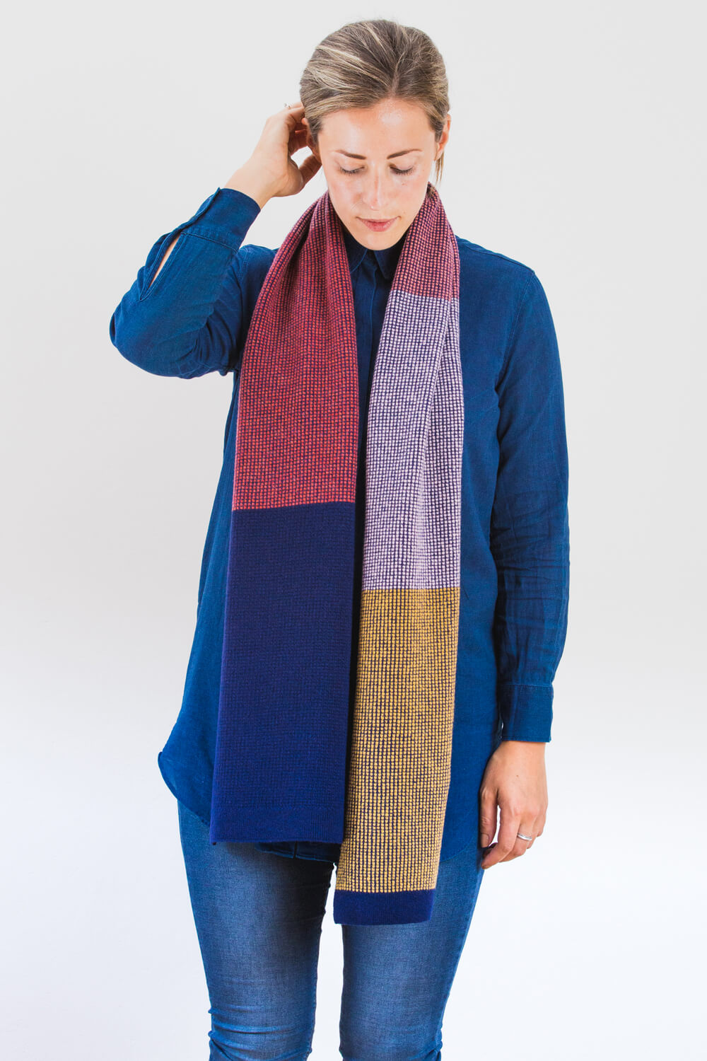 Mull Scarf- Much as I love it, this is also only available while colours last.