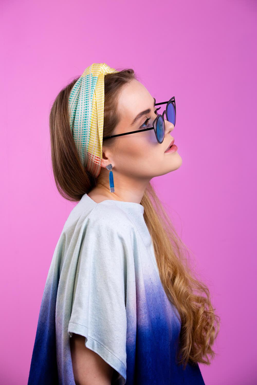 Designer silk scarf in pastels by Collingwood-Norris. Made in Scotland.jpg