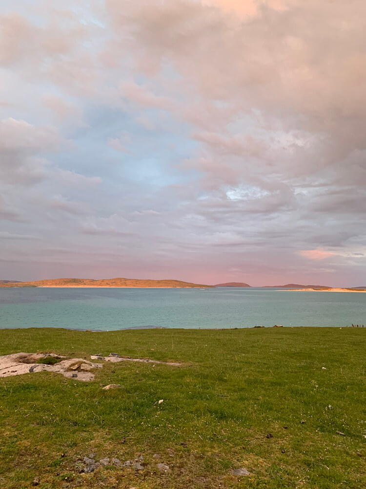 The golden hour on Barra- no filters or tricks, these were the colours!