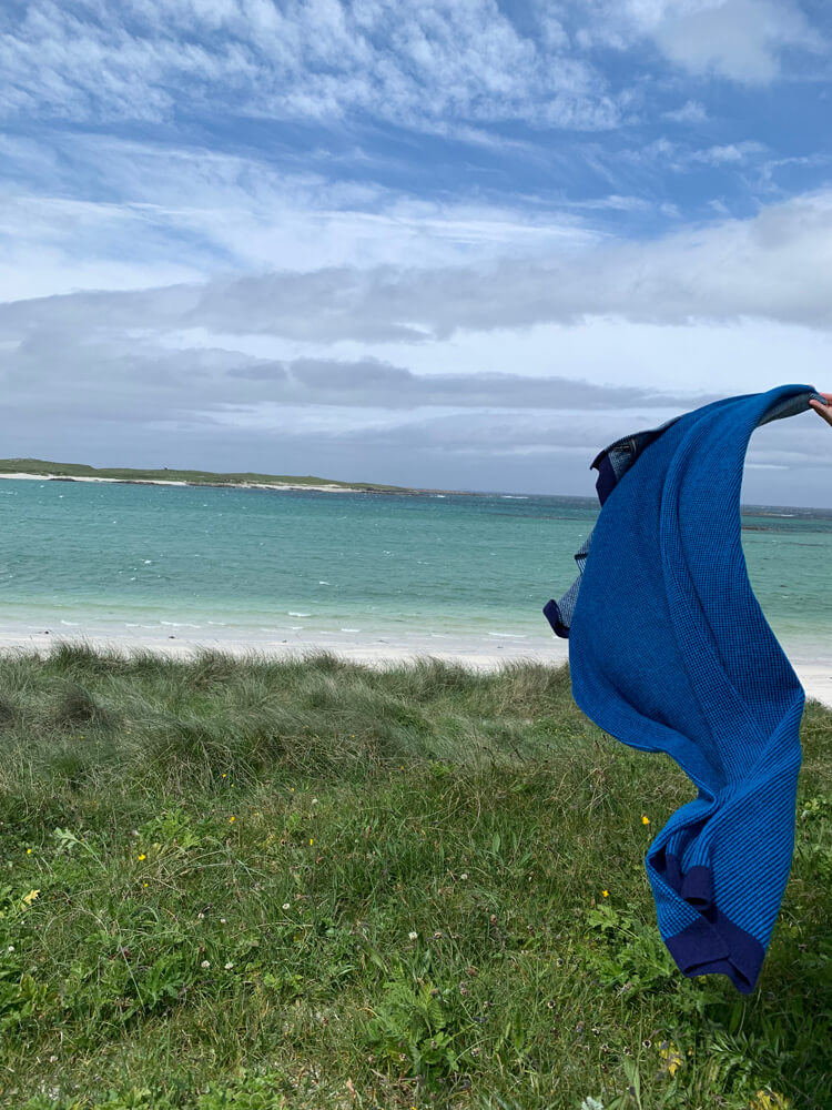 It was quite windy on South Uist!