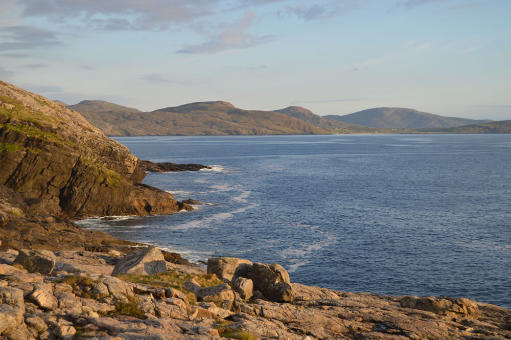 The golden hour on Barra