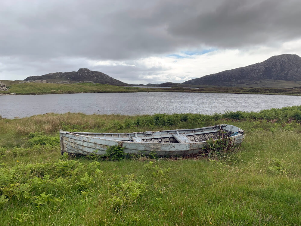 North Uist- most of the holiday was this sort of grey…