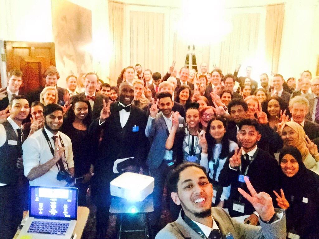 RF Event Group Selfie