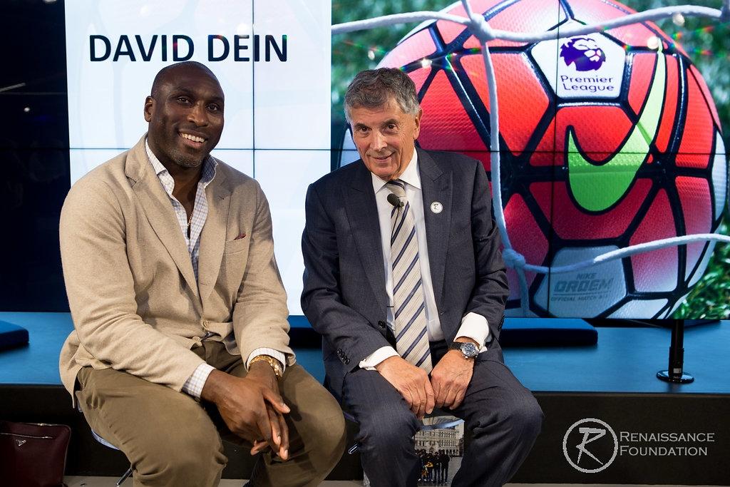 David Dein& Sol Campbell -