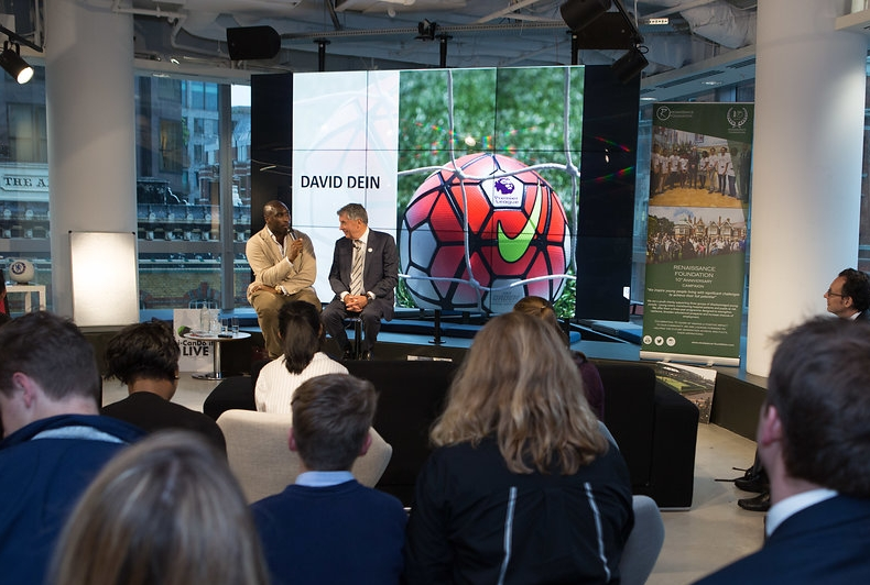 David Dein and Sol Campbell event