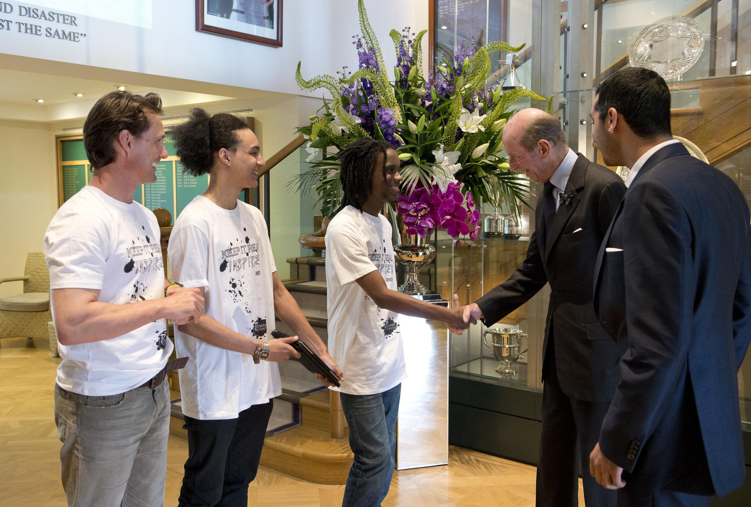 HRH Duke of Kent - Wimbledon