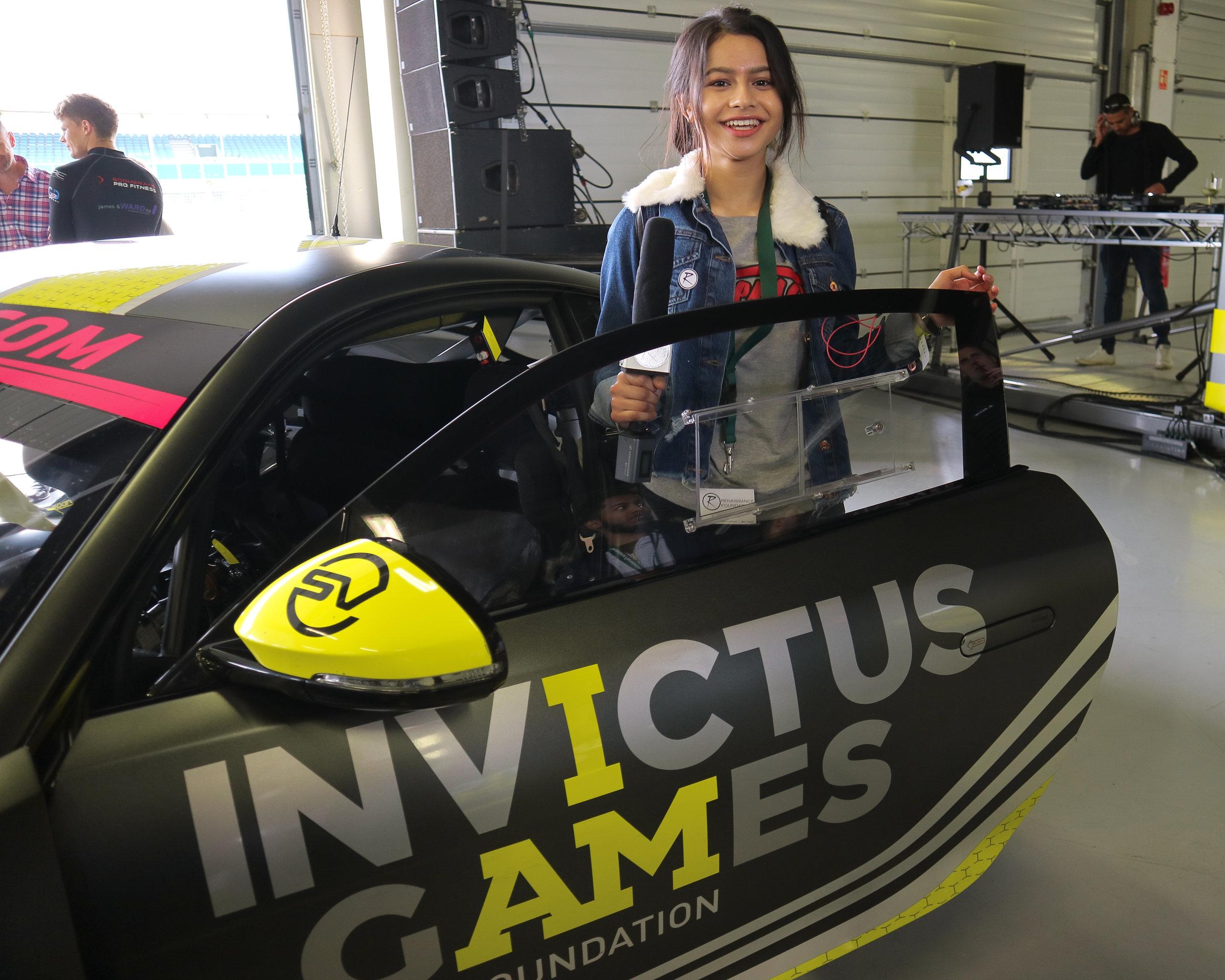 Racing at Invictus