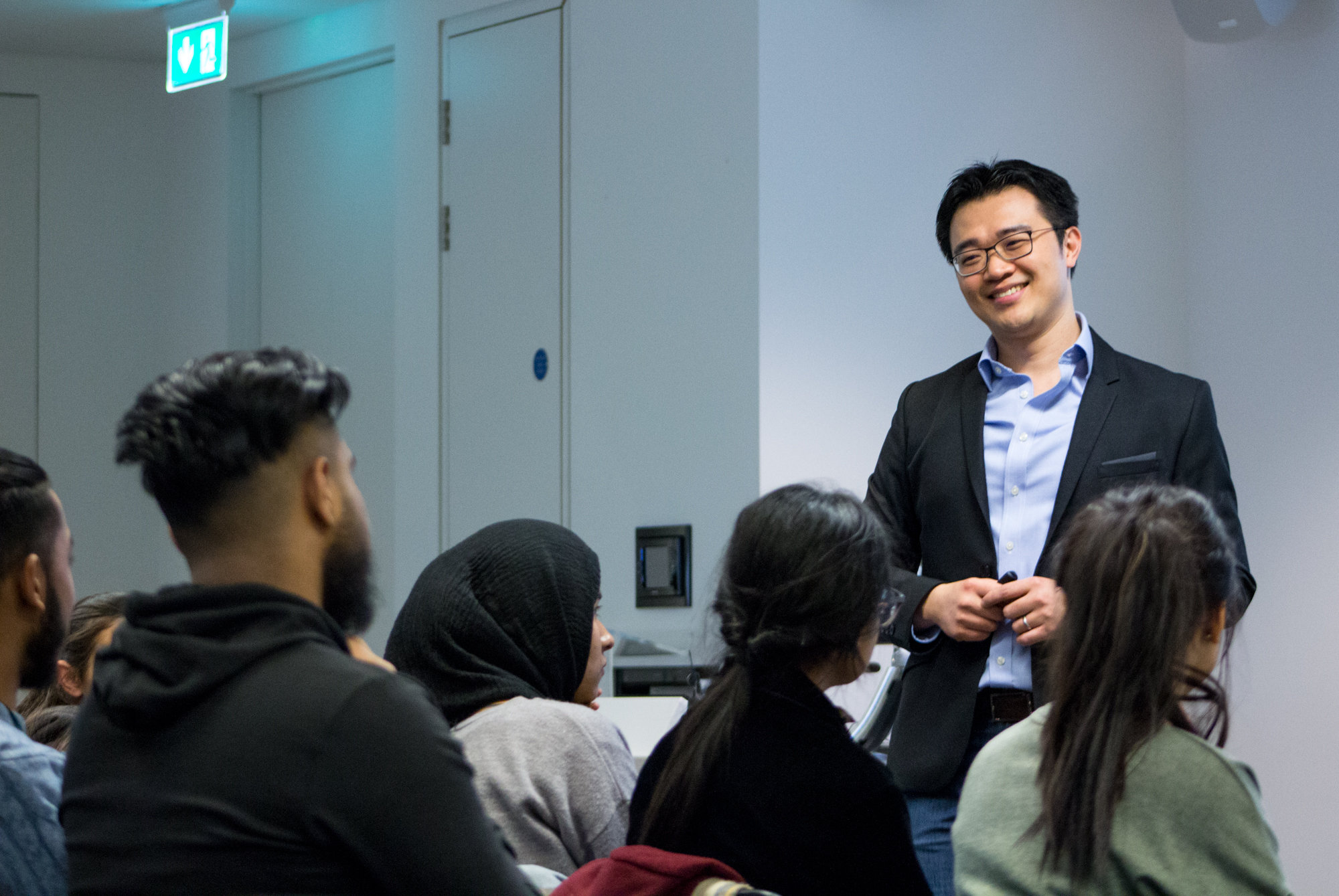 Warwick Buisness School - Talk on Finding Strategies for success
