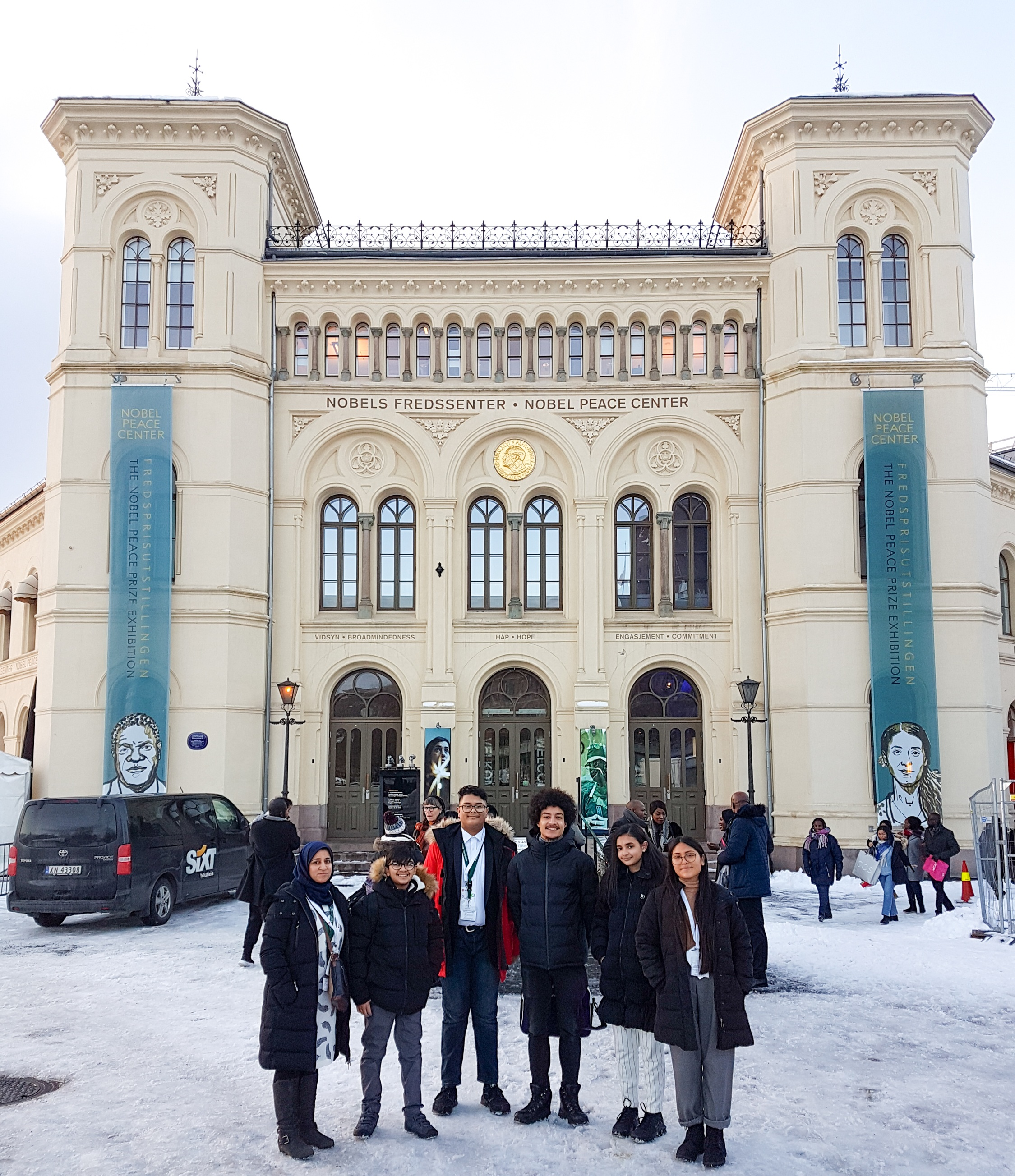 Outside The Nobel Peace Centre
