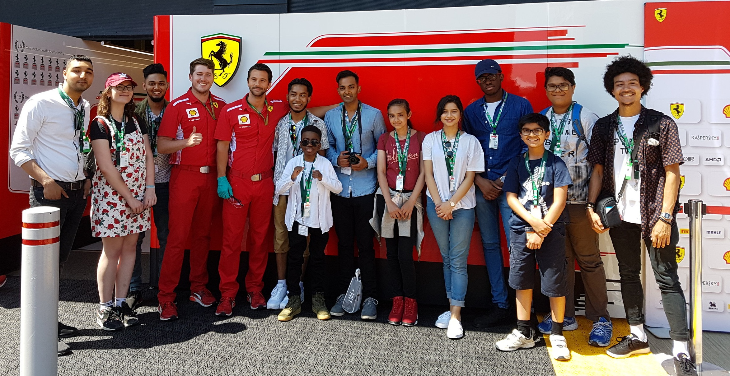 Ferrari F1 Team Garage