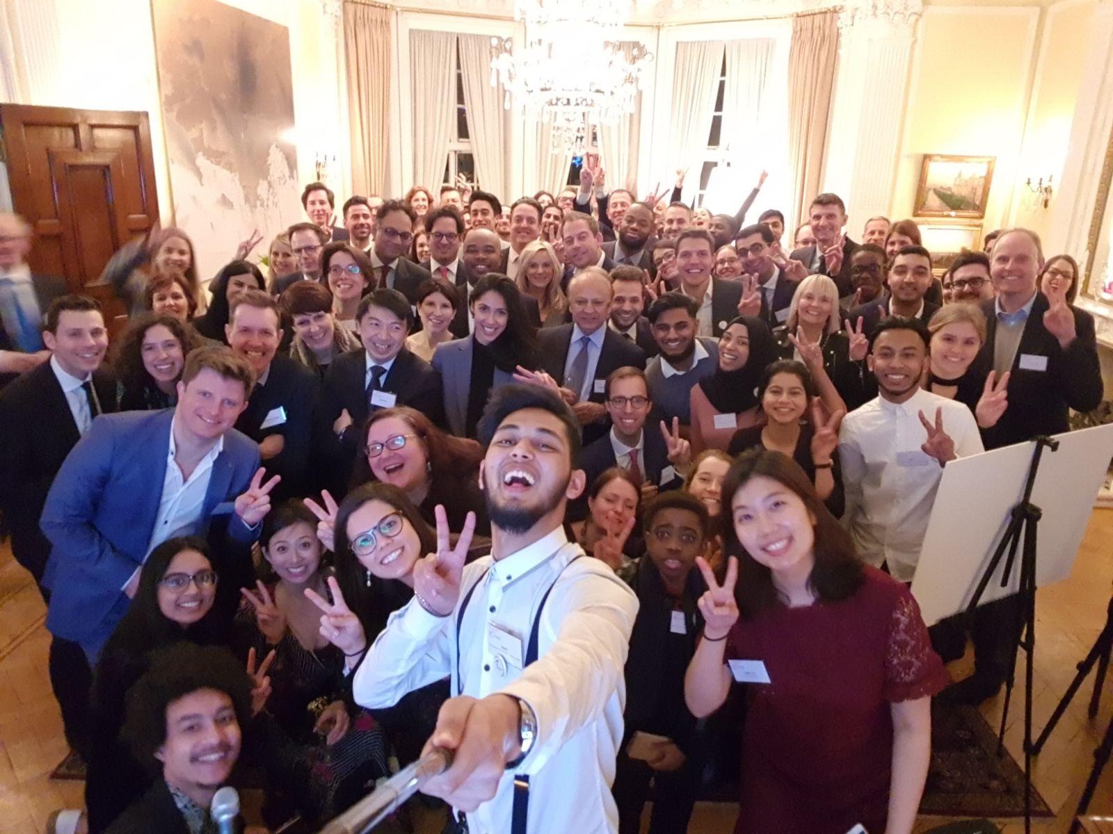 Norwegian Ambassador's Residence Reception