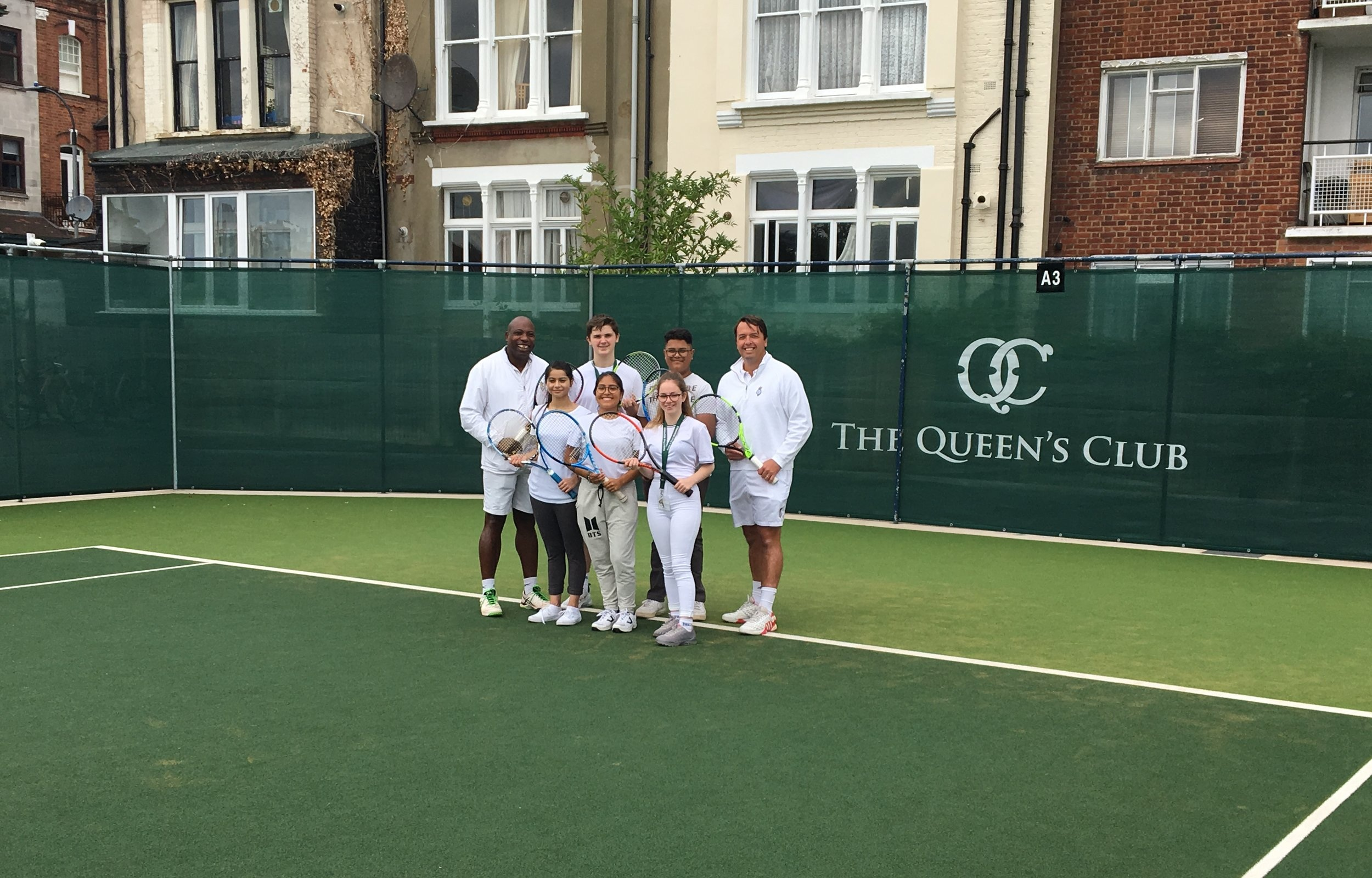 Visit & Tennis Coaching at Queens Club