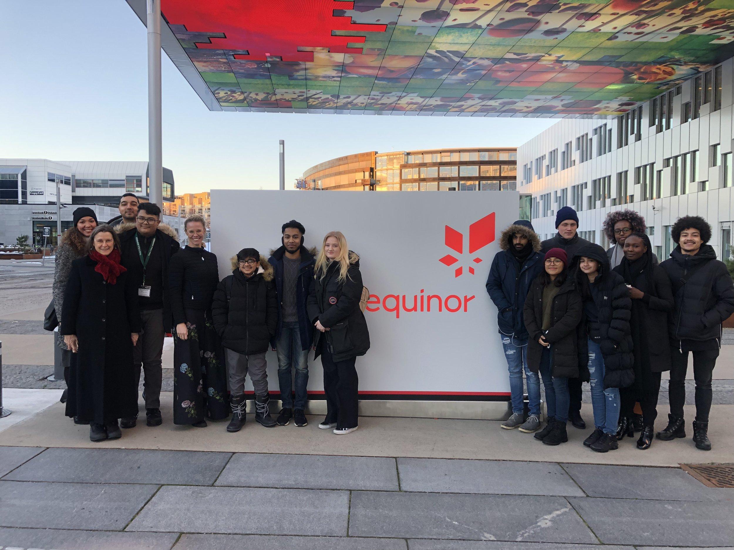 Equinor HQ Oslo programme