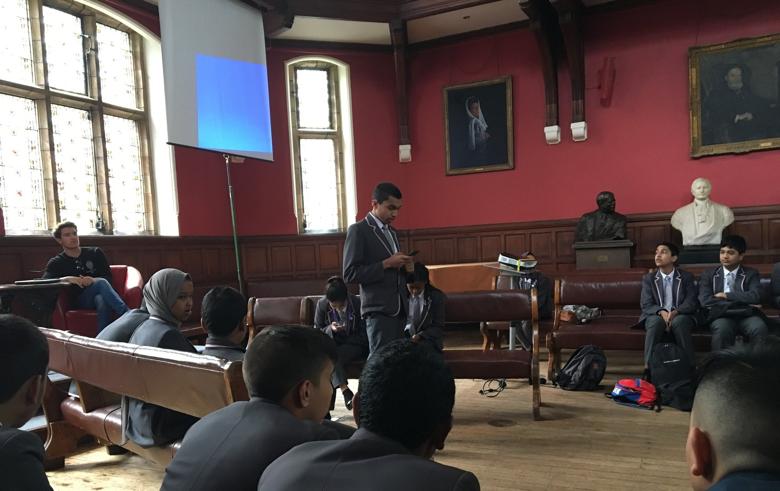 The Oxford Union - Public Speaking Training