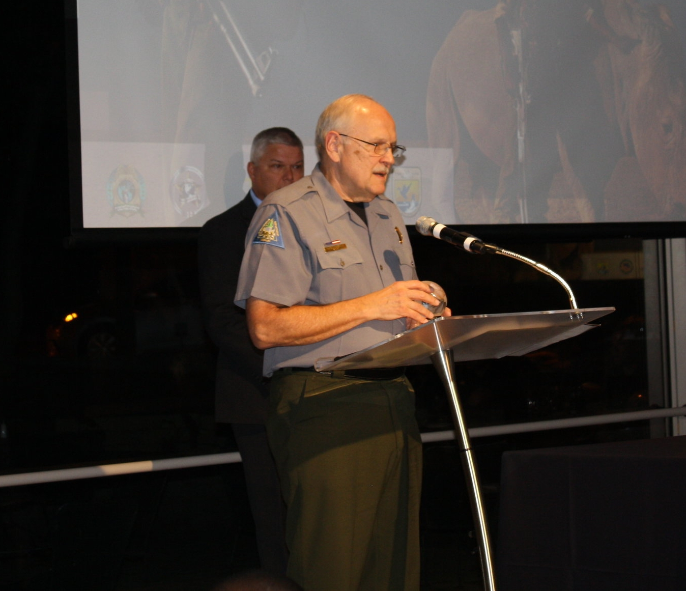 Larry Yamnitz, Chief of the Protection Division of the Missouri Department of Conservation