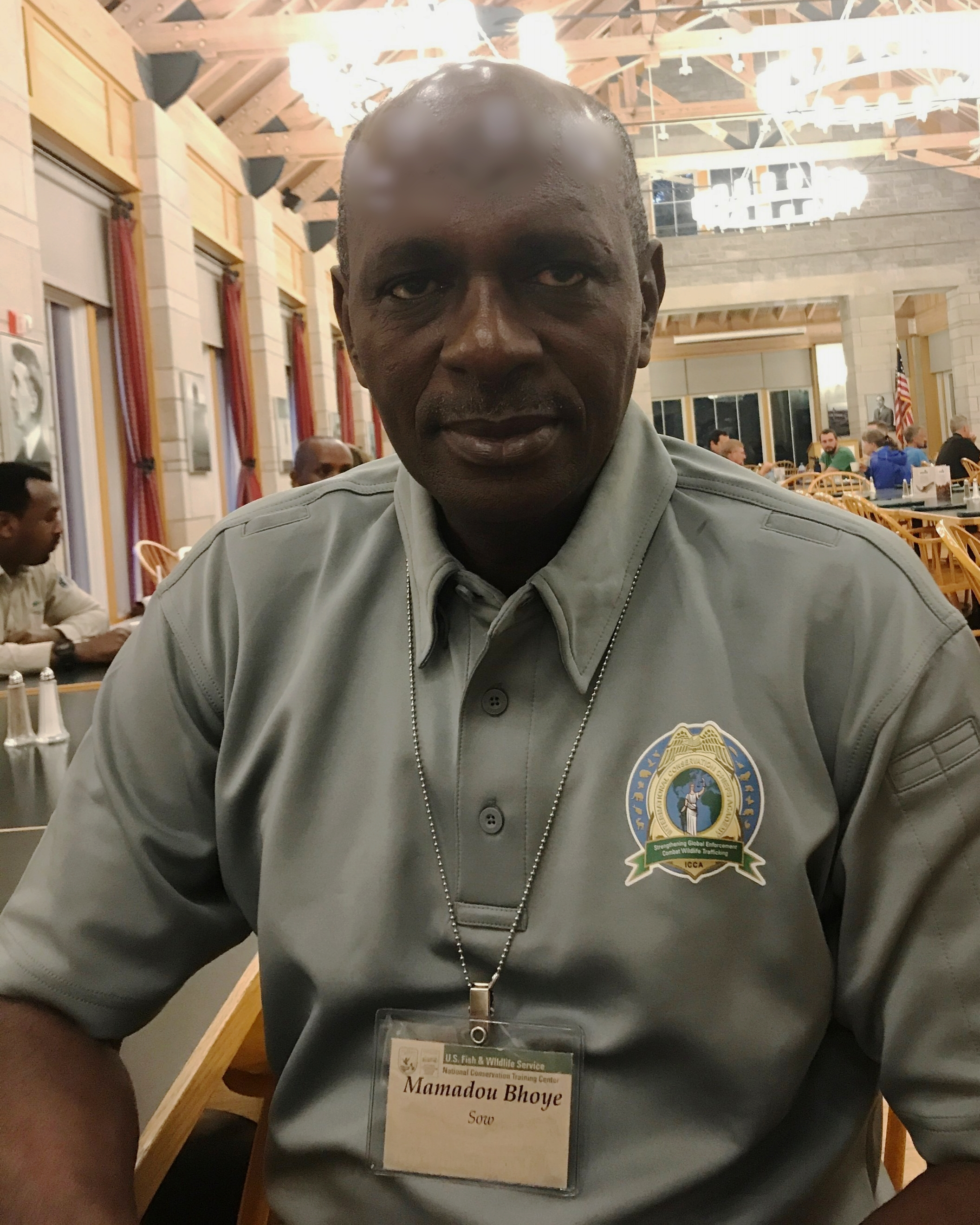 Colonel Mamadou Bhoye Sow of Guinea