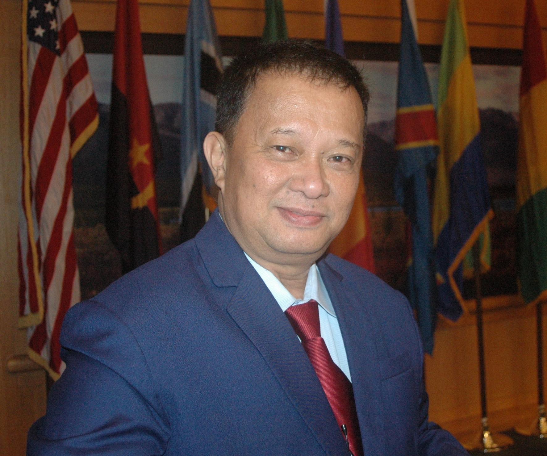 Roberto Oliva, Executive Director of ASEAN Centre for Biodiversity