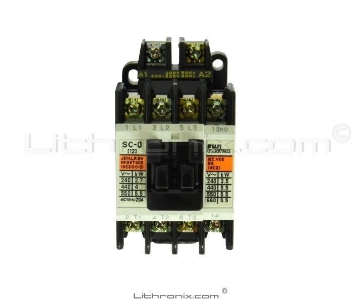Fuji Electric Contactor Type: SC-0