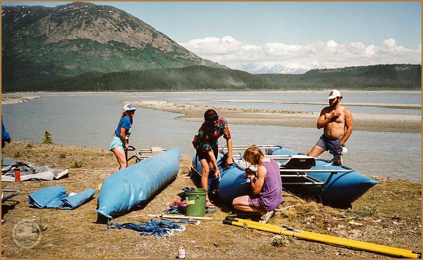 Tana River rafters.