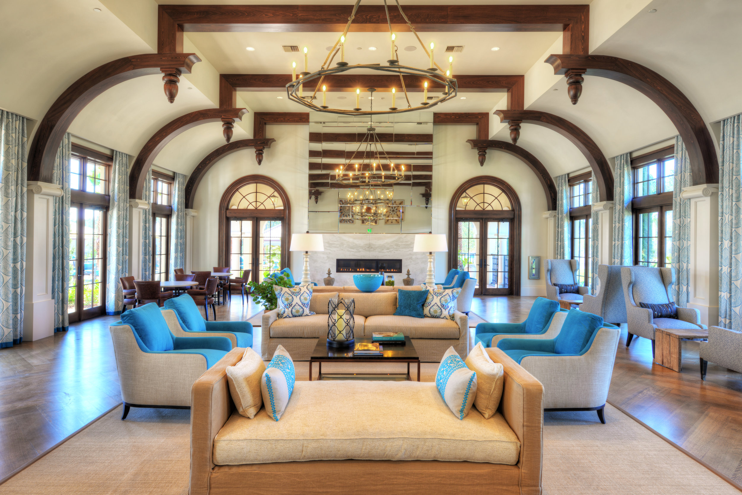 Tamaya Luxury Clubhouse ICI Homes Ansana Interior Design