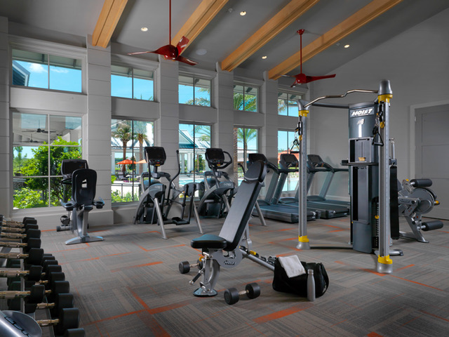Fitness Room Ansana Interior Design Clubhouse