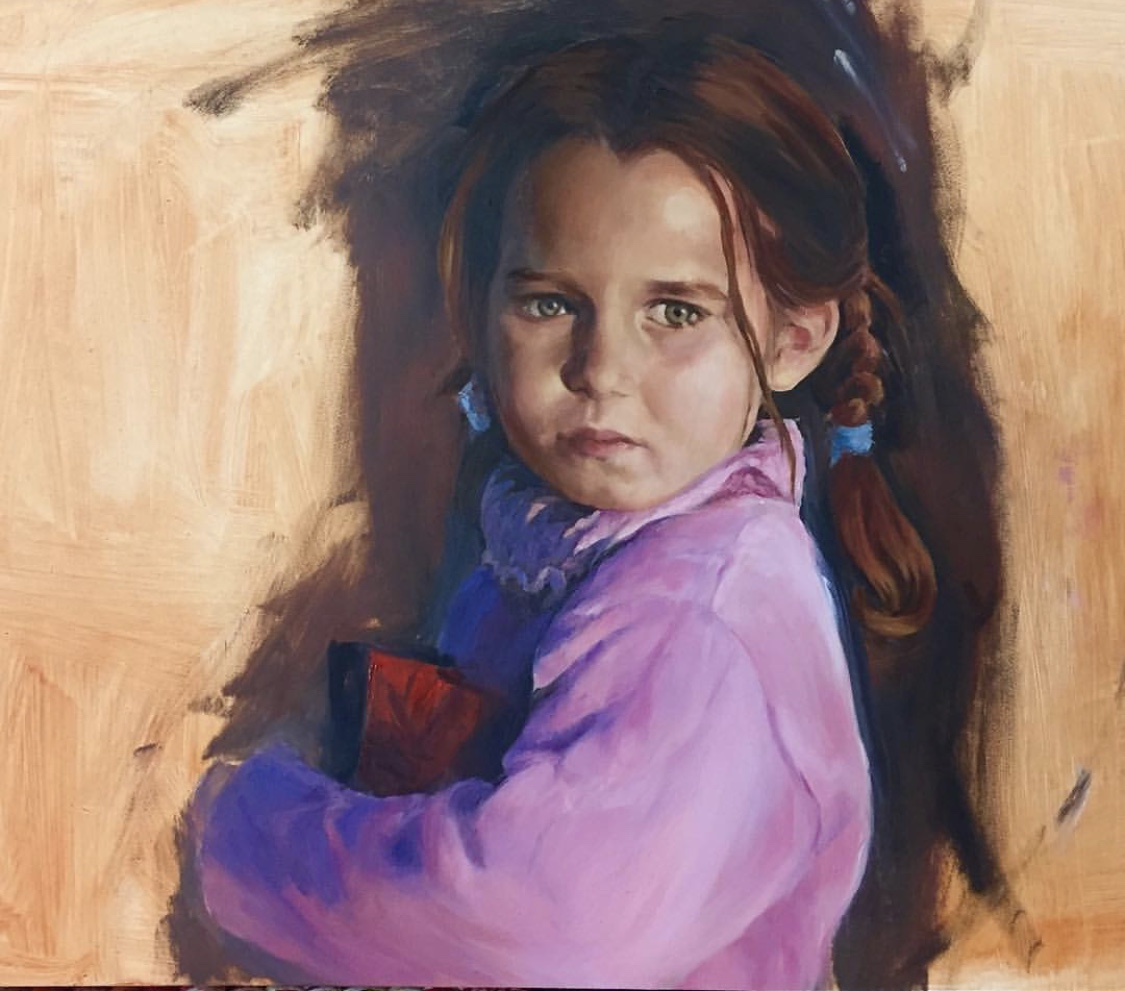 Portrait of a Syrian Refugee