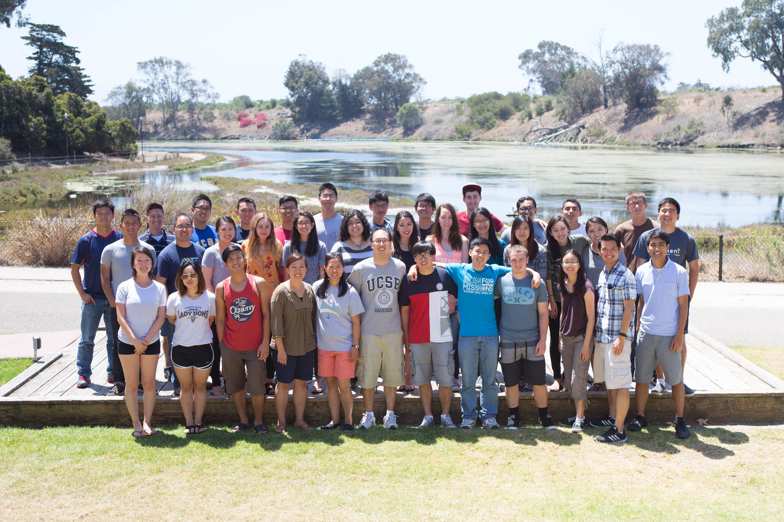 With our friends from the Acts2Fellowship at UC Davis