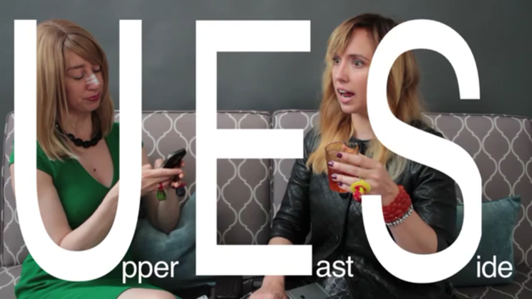 U.E.S. is an improvised series about the struggles of opulent living.    website  |  watch