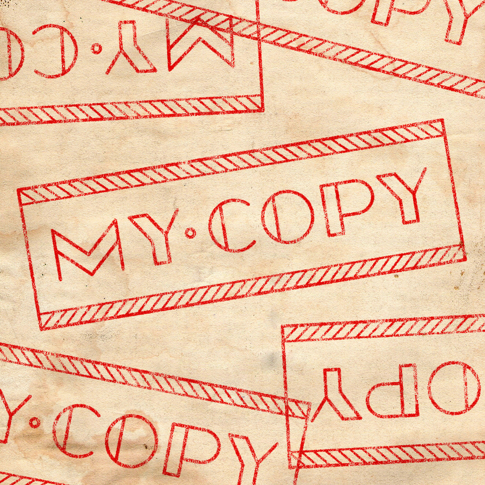My Copy Stamp •  Lettering