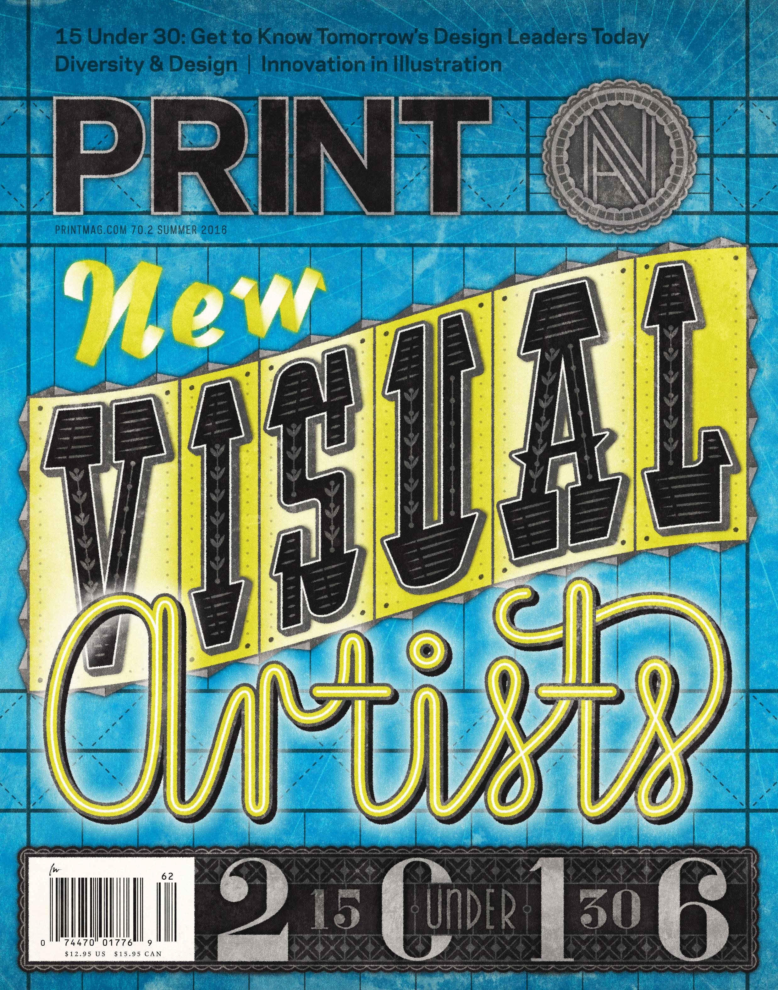 Print Magazine •  Lettering