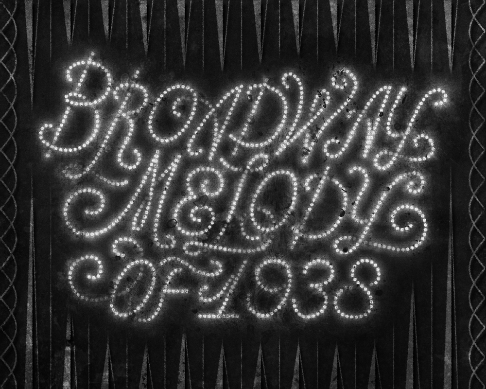 The Films of Judy Garland •  Lettering