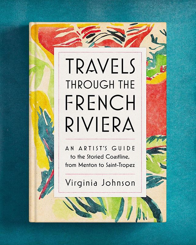 I designed this new book written and illustrated by @virginiajdesign for @artisan_books and absolutely loved dreaming of the colors of the sea and sun of the French Riviera while working on it during the cold and gray winter months in NYC. It's a wonderful combination of watercolorist's sketchbook and traveler's guide and I'm hoping to visit some of these places this summer. ☀️ 🌊 🏖 🕶