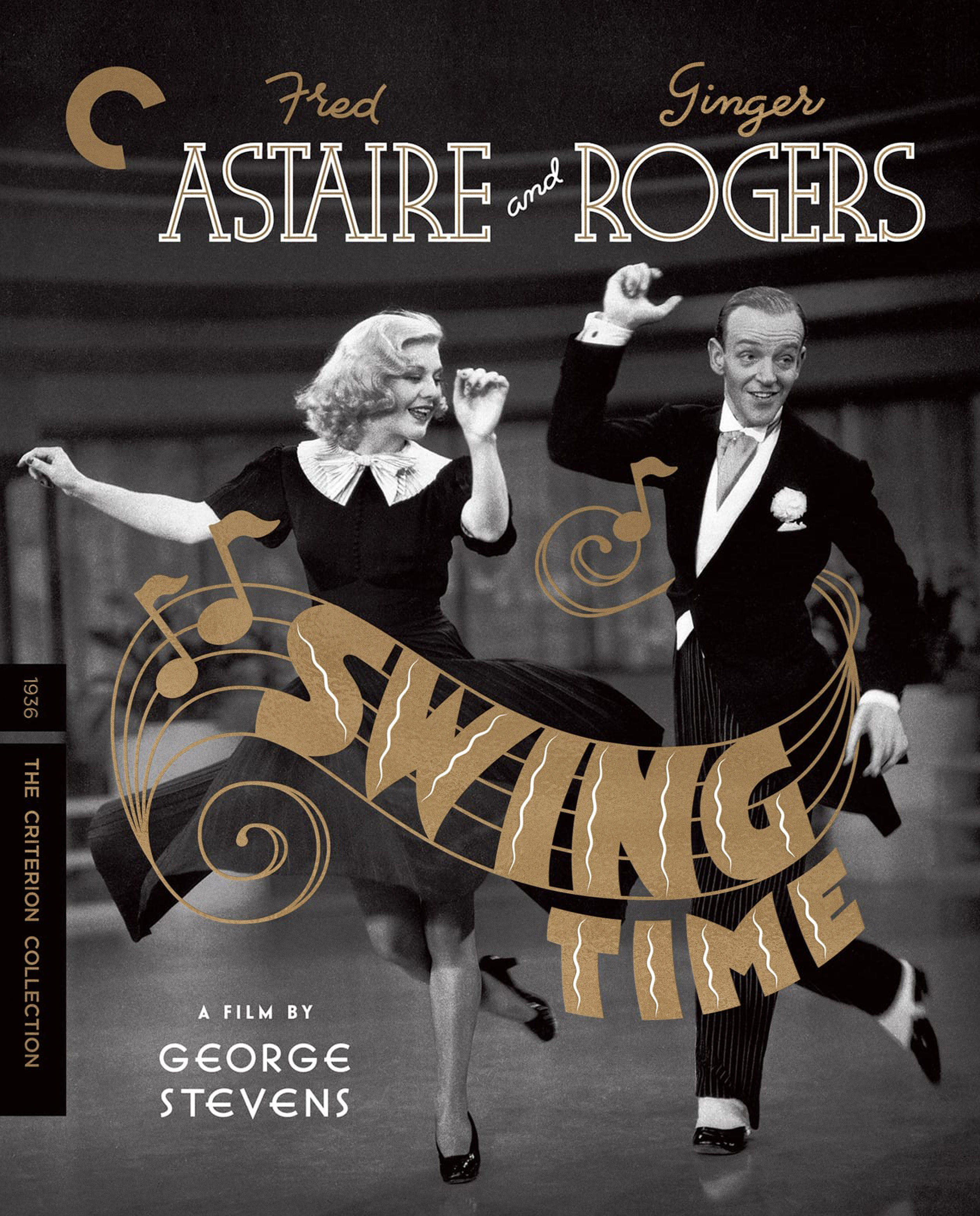Swing Time  DVD / Blu-ray Package •  Design and Lettering