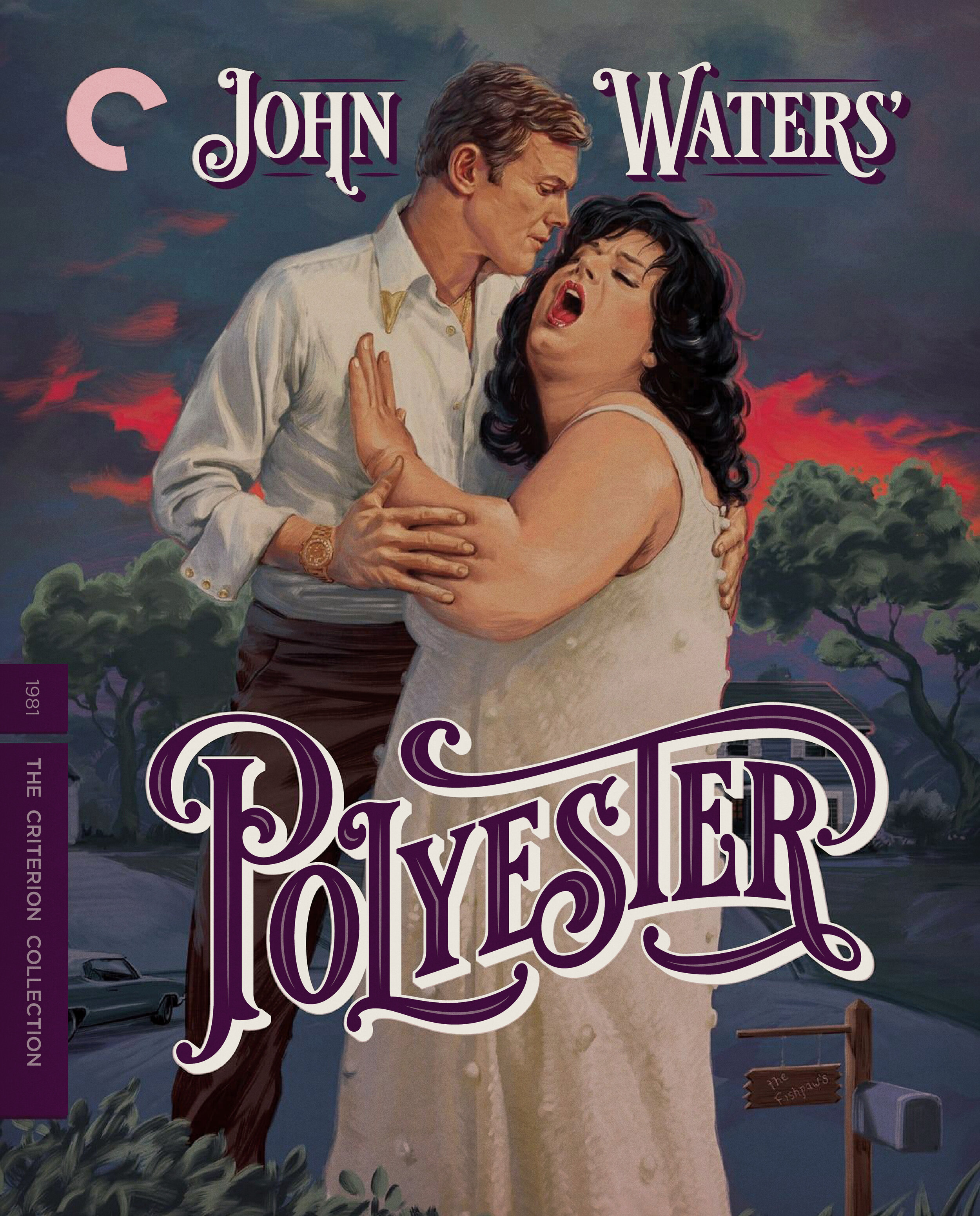 Polyester  DVD / Blu-ray Package •  Design and Lettering