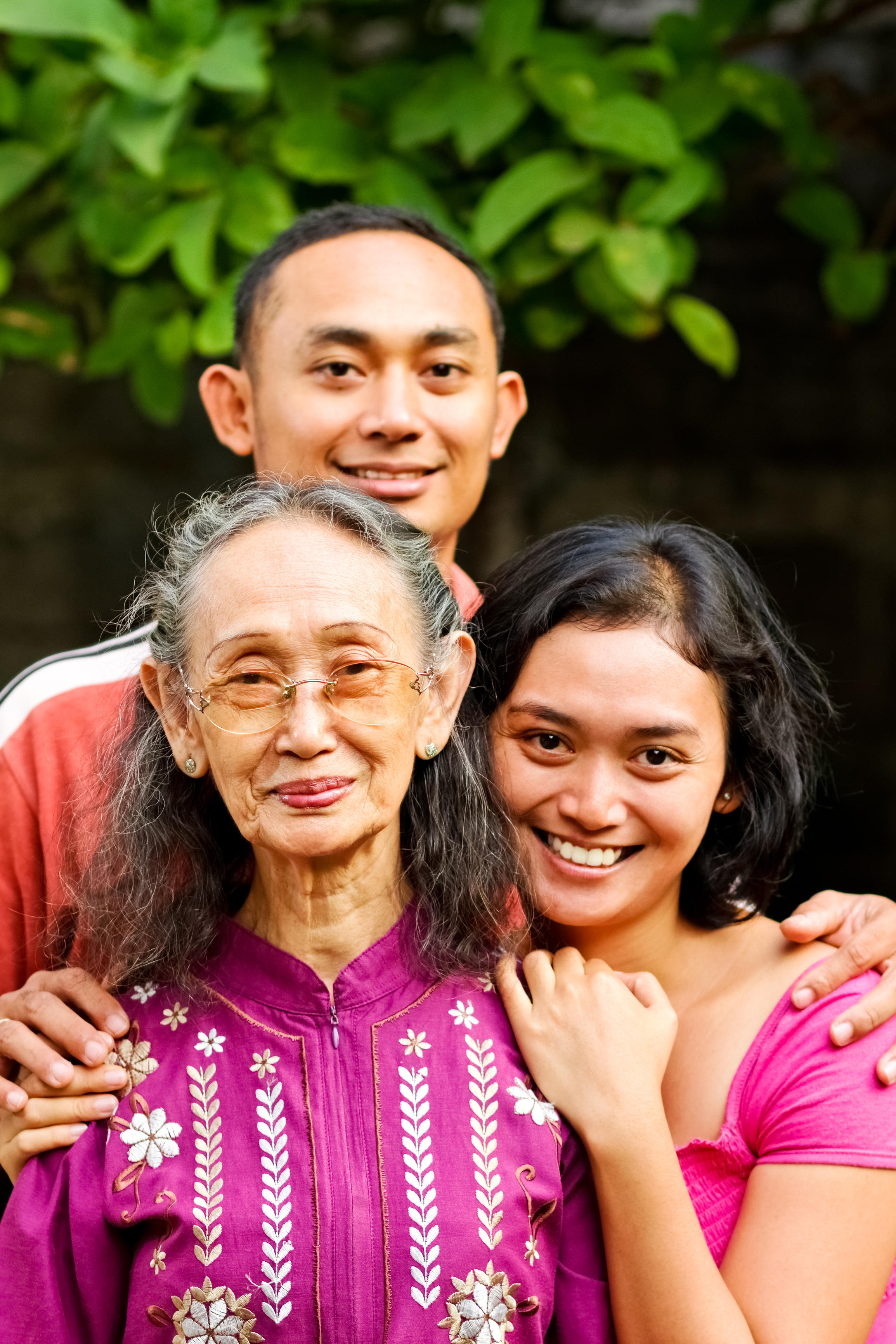 Fill Me In English Language Services, Happy Family, Teens with Grandmother.jpg
