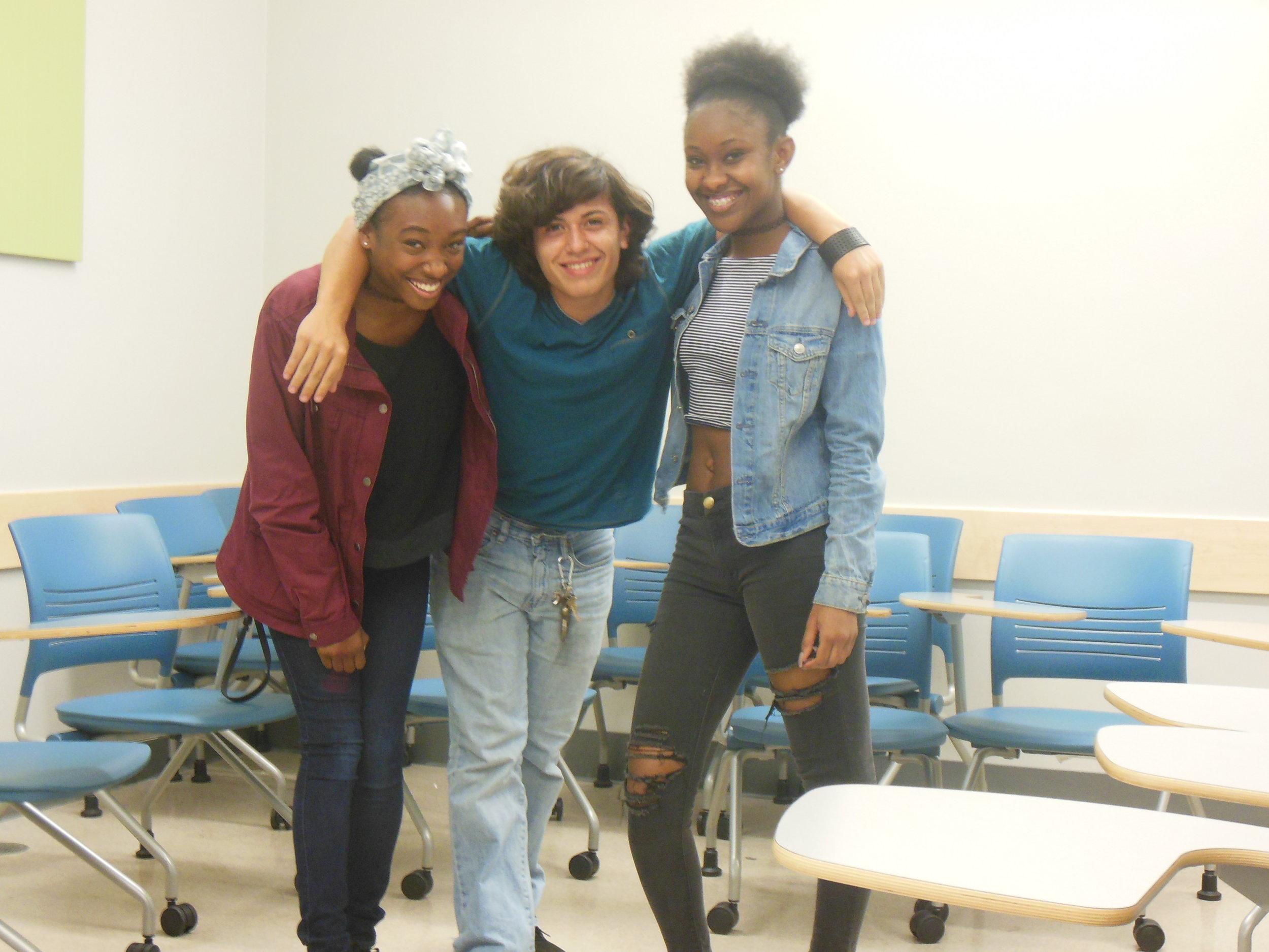 Capri, James, and Lauren