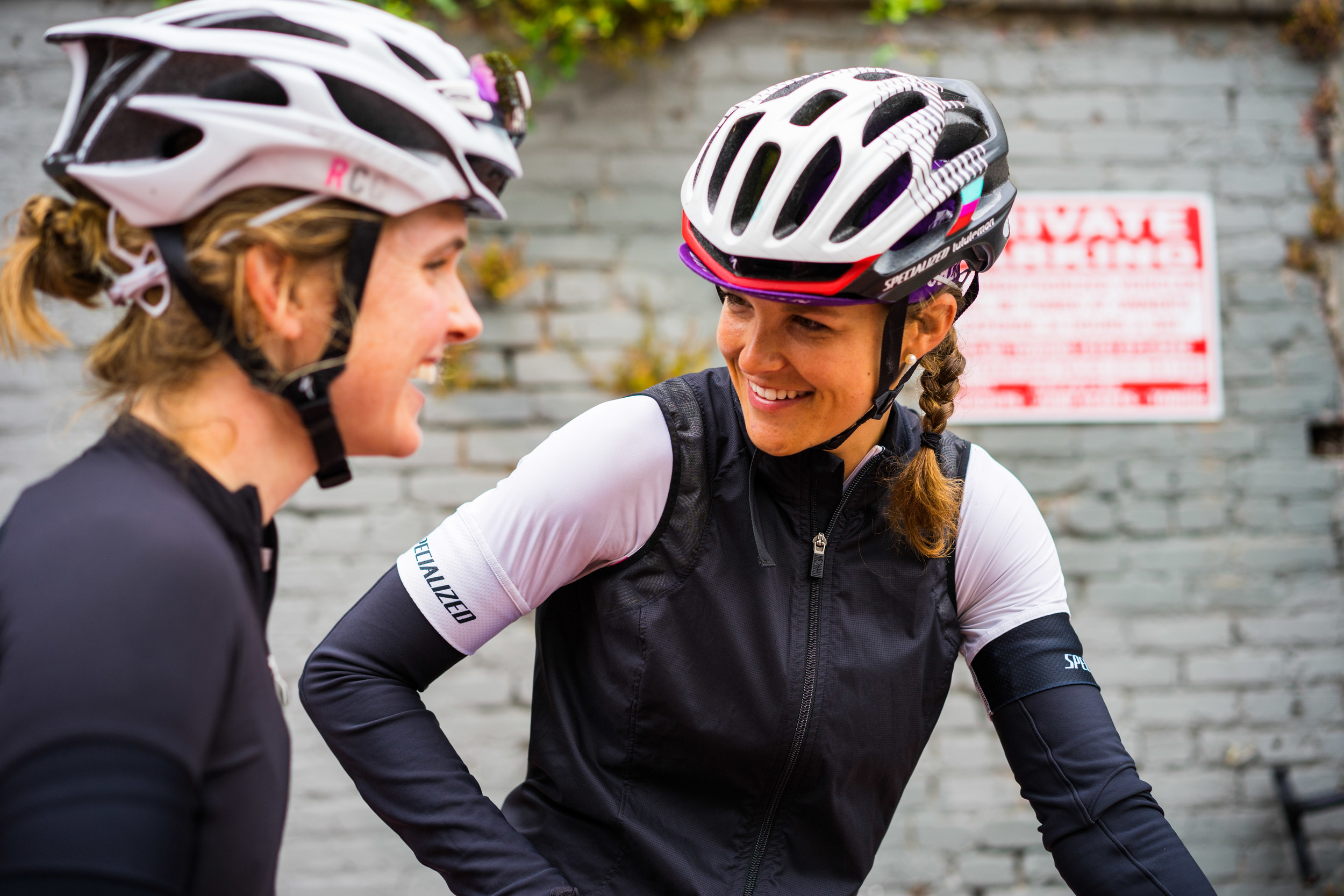 Rita Jett and Emily Watts from Specialized