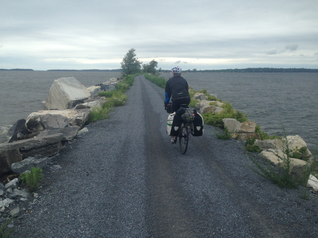 The Lake Champlain Island Line Trail